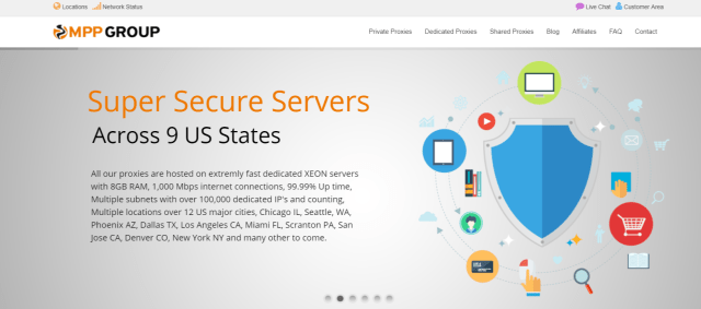 Setup Private Proxy Servers Easily- MyPrivateProxy