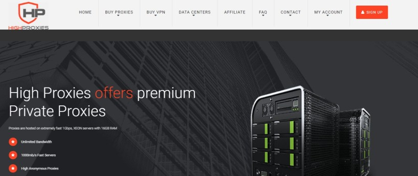 HighProxies- Best Cheap Private Proxy Servers