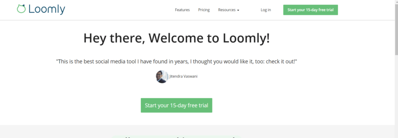 Loomly Review- 15 Day Free Trial Loomly Bloggersideas