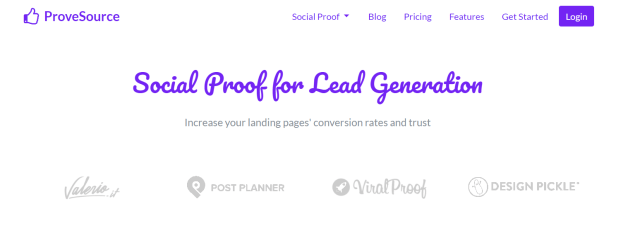 ProveSource Review- Social Proof For Lead Generation