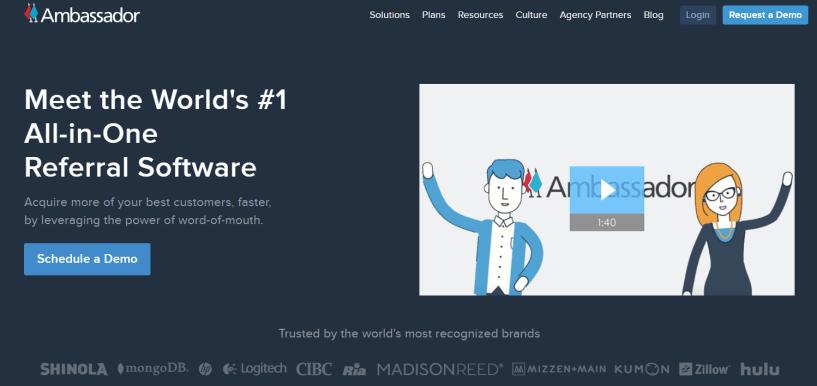 Ambassador - Referral Program Software