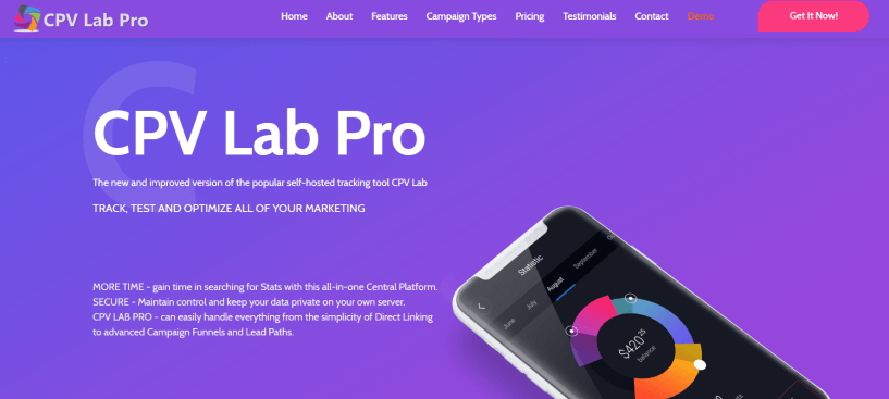 CPV Lab Review- A Reliable Tracker & Optimizer Platform