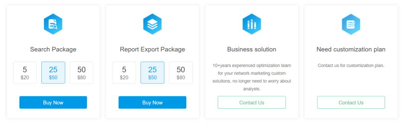 Idvert Review- More Pricing