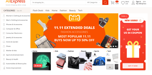 Best dropshipping products on Aliexpress Black Friday