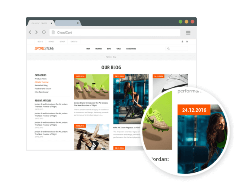 CloudCart Review- Blog