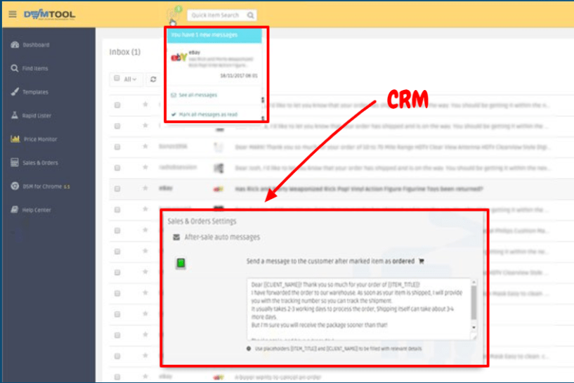 DSM Tool Review- CRM