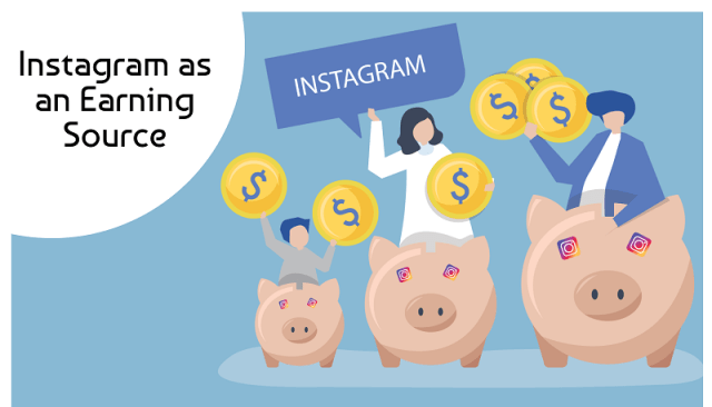 Instagram as an Earning Source- How To Make Money Through Instagram