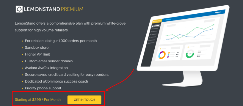LemonStand Review- Premium Pricing Platform Pricing