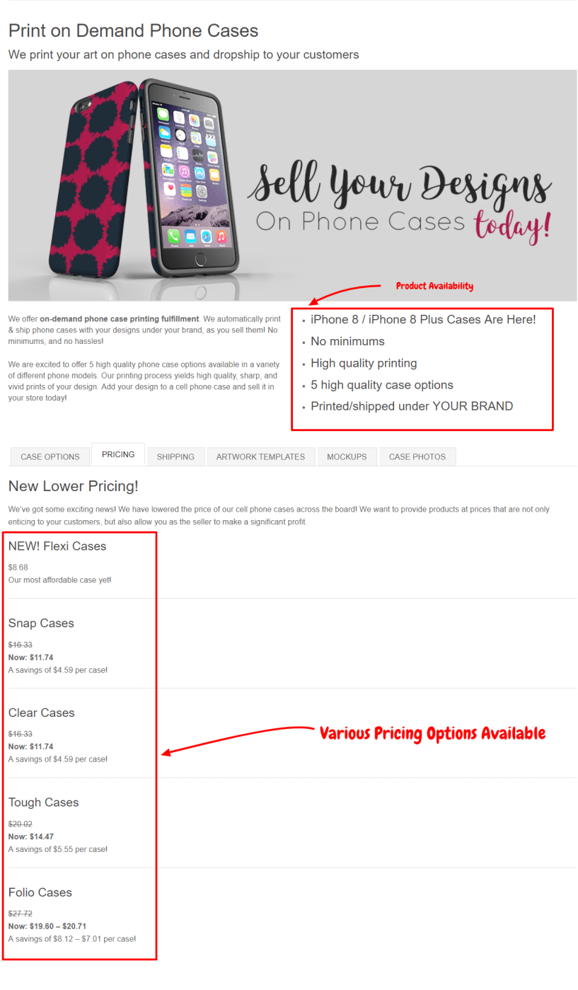 Print Aura Review- Custom Phone Cases DTG Printing Services