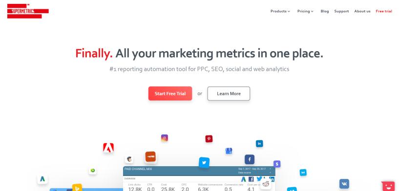 Supermetrics Review- Marketing Platform