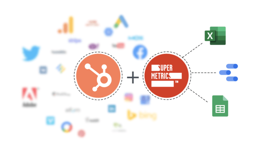 Supermetrics for HubSpot - Banner 2
