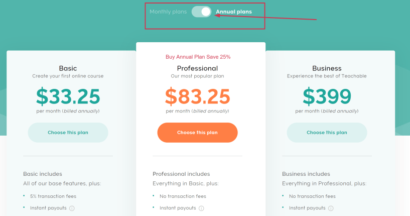 Teachable Disocunt Coupon Codes