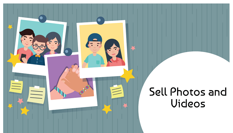 You can even sell photos and videos- How To Make Money Through Instagram