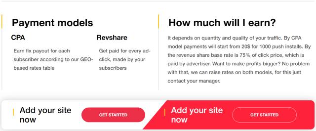 DatsPush Review- Payments Models