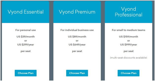 GoAnimate pricing with discount