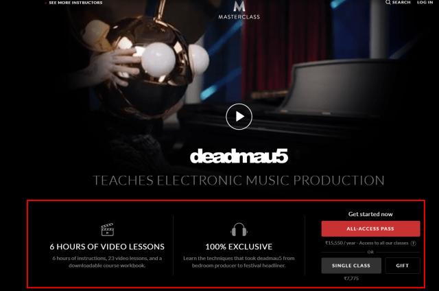 MasterClass Review- deadmau5 Teaches Electronic Music Production
