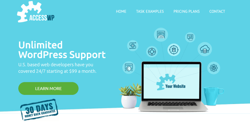 AccessWP Review- Unlimited WordPress Support Service
