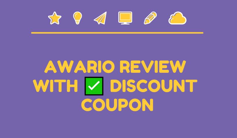 Awario review discount coupon code