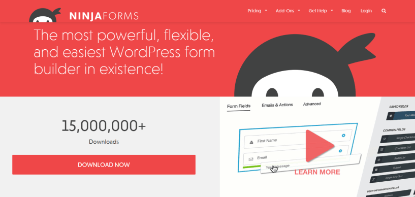 Best form builder NinjaForms coupon codes