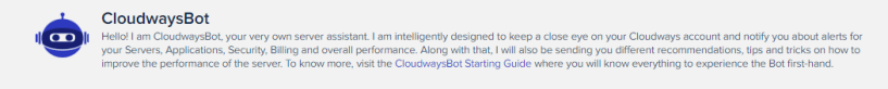 Cloudways Review- Clouways Bot