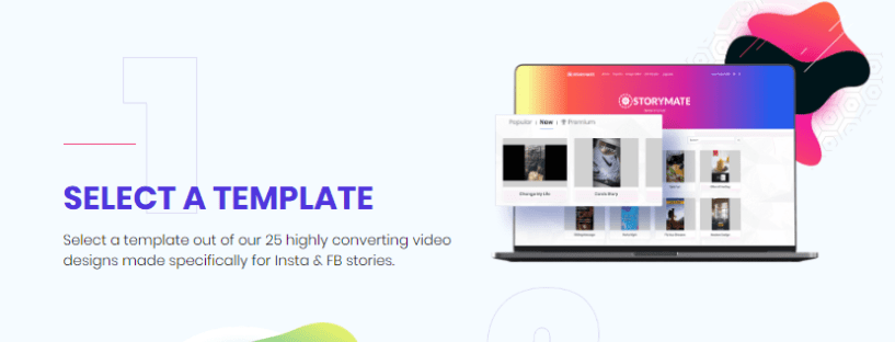 Storymate Review- Select Templates