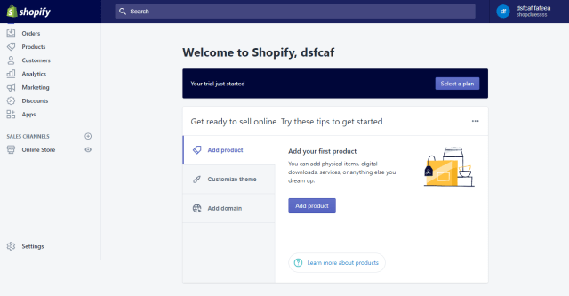 Zipify Coupon Countdown Review- Shopify Dashboard