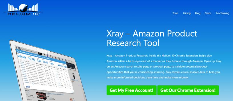 Helium 10 Review- Xray