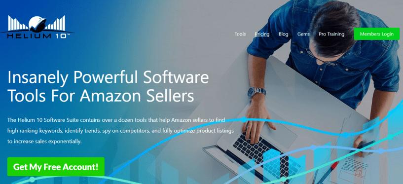 Amazon Seller Tools- Helium10 Review