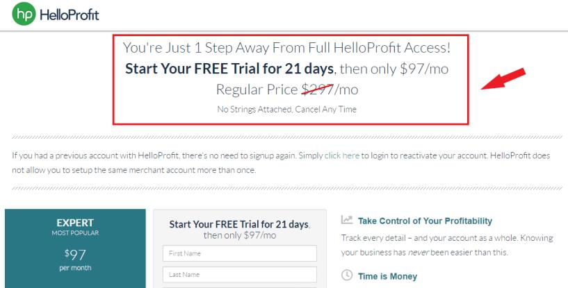 HelloProfit Discount