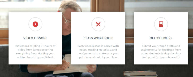 James Patterson MasterClass Features