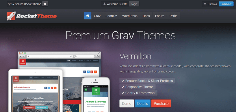 RocketTheme Review With Discount Coupon- Responsive Themes & Templates