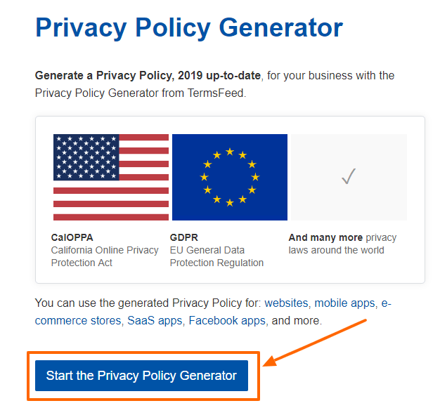 TermsFeed Review- Privacy Policy Generator