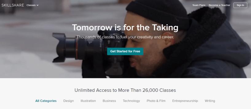 Udemy alternative-skillshare
