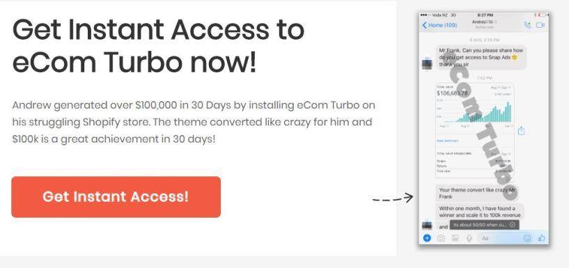 ecom turbo theme feature