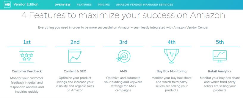 sellics vendor features