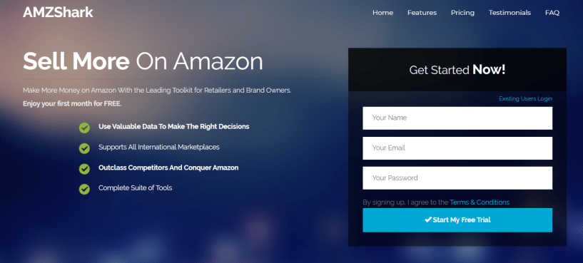AMZShark- Amazon Seller Tools