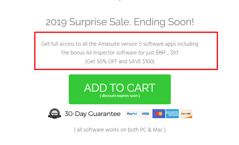 Amasuite Pricing- Amazon Seller Tools