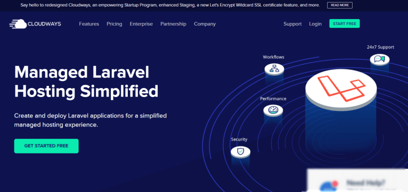 Cloudways Laravel Hosting Review- Host Your Laravel Apps On Cloud Easily