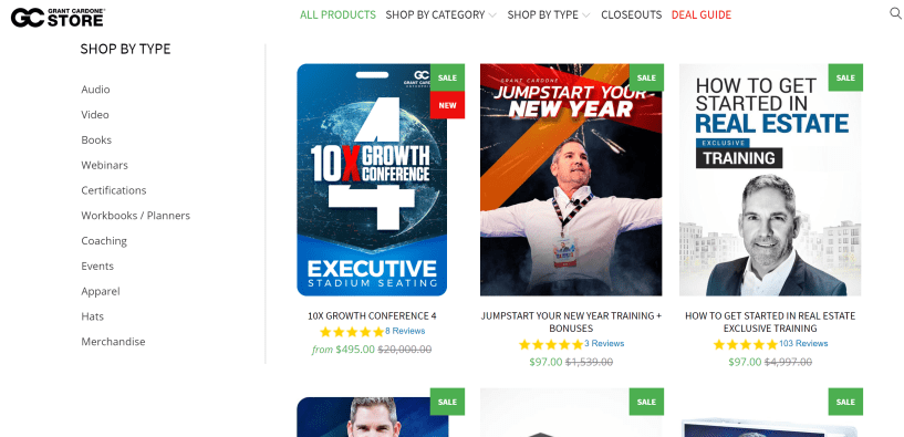 ef6a2055d43 Grant Cardone Store Discount Coupon 2019: Get Upto 55% On All