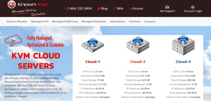 KnownHost- Cloud VPS Hosting