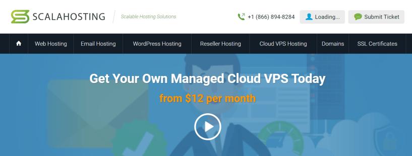 Scala Hosting- Managed Cloud VPS Hosting