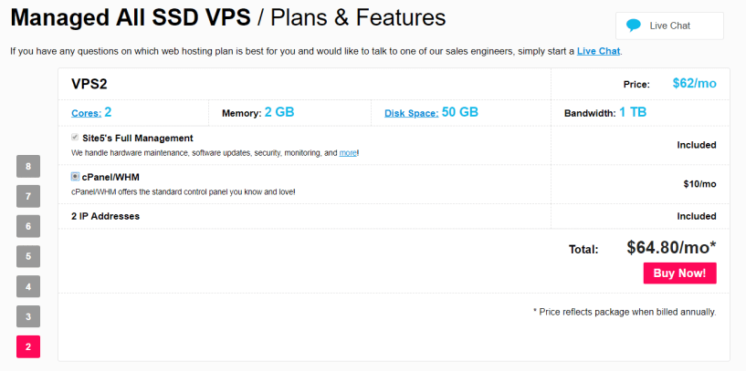 Site5- Best Cloud VPS Hosting Provider