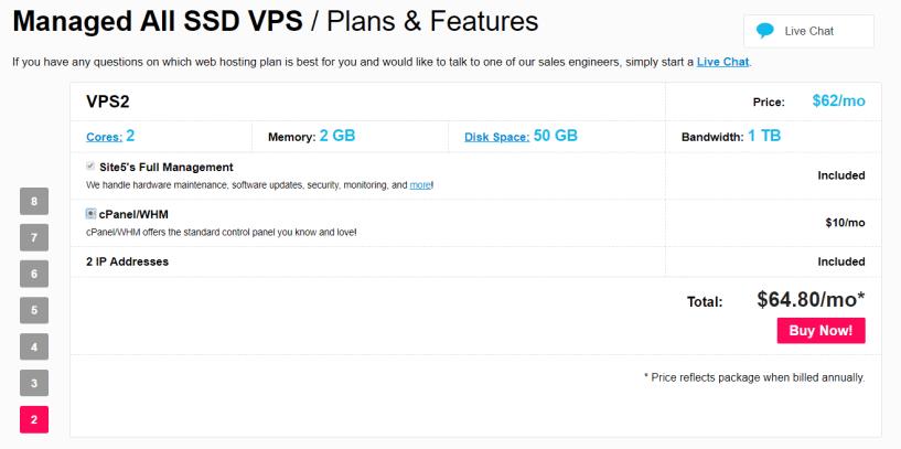 Site5- Best Cloud VPS Hosting Provider