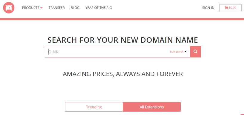 Porkbun Review- domain