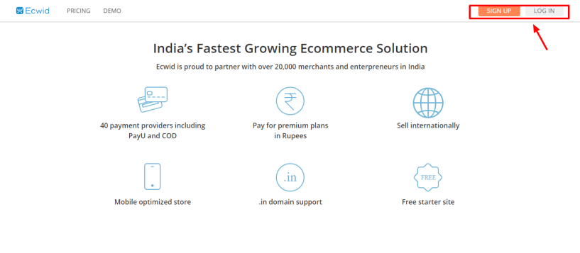 Best Ecommerce Platform -Ecwid review Sell Online in India