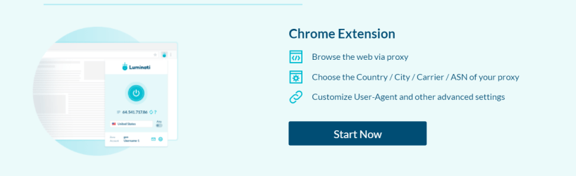 Luminati.IO Review - Chrome Extension