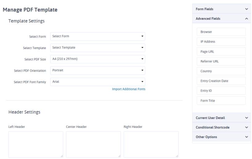 ARForms Review- Manage PDF Templates