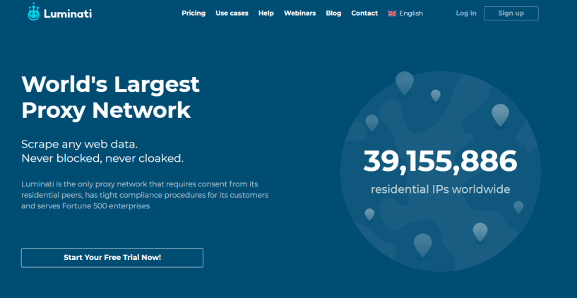 Luminati- Best Residential Proxy Network for SEO Link Building