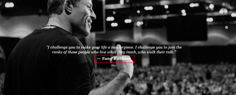 Tony Robbins Life Coach Training Review- Delivering Speech