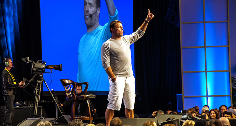Tony Robbins Seminar Review- Tony